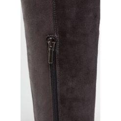 CTWLK MANHEIM Muszkieterki anthrazit. Szare buty zimowe damskie CTWLK, z materiału. W wyprzedaży za 419,50 zł.
