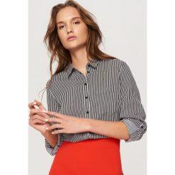 Koszula we wzory - Czarny. Czarne koszule damskie Reserved. Za 69,99 zł.