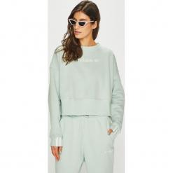 Adidas Originals - Bluza. Szare bluzy damskie adidas Originals, s, z bawełny, bez kaptura. Za 249,90 zł.