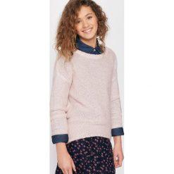 Swetry dziewczęce: Sweter z dłuższym tyłem 10-16 lat