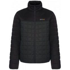 Regatta Kurtka Zimowa Highfell Ii Black/Darkest Spruce S. Czarne kurtki sportowe męskie marki Regatta, na zimę, m. W wyprzedaży za 226,00 zł.
