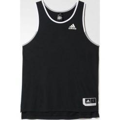 Adidas Koszulka męska Commander czarno-biała r. L (AZ9553). Białe koszulki sportowe męskie marki Adidas, l. Za 93,26 zł.