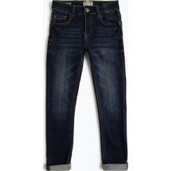 Review - Jeansy chłopięce slim fit, niebieski. Niebieskie chinosy chłopięce Review, z jeansu. Za 119,95 zł.