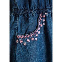Sukienki dziewczęce z falbanami: 3 Pommes KID SUMMER BLUES DRESS Sukienka jeansowa indigo