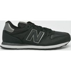 New Balance - Buty GM500SK. Czarne halówki męskie New Balance, z gumy, na sznurówki. Za 299,90 zł.