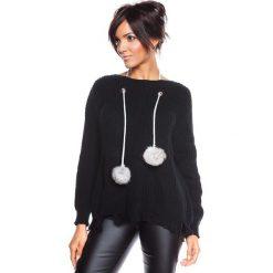 """Swetry klasyczne damskie: Sweter """"Montreuil"""" w kolorze czarnym"""