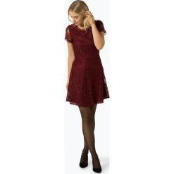 ONLY - Sukienka damska – Onlsanta, brązowy. Brązowe sukienki balowe ONLY, w koronkowe wzory, z koronki. Za 159,95 zł.