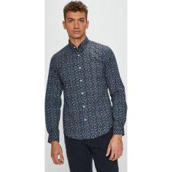 S. Oliver - Koszula. Szare koszule męskie na spinki marki S.Oliver, l, z bawełny, z włoskim kołnierzykiem, z długim rękawem. Za 169,90 zł.