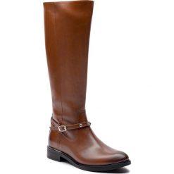 Oficerki BALDACCINI - 105000-0 Brąz Da Vinci/P. Brązowe buty zimowe damskie Baldaccini, z materiału, na obcasie. Za 469,00 zł.