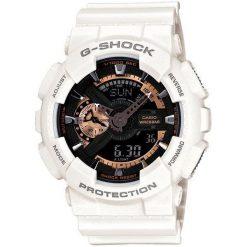 Zegarek Casio Męski GA-110RG-7AER G-Shock biały. Białe zegarki męskie CASIO. Za 447,50 zł.