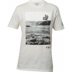T-shirty męskie: FOX Koszulka Męska Picogram Ss Premium M Biała
