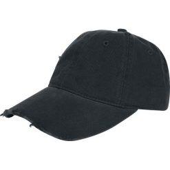 Baseball Cap Distressed Czapka baseballowa czarny. Czarne czapki z daszkiem damskie Baseball Cap. Za 79,90 zł.