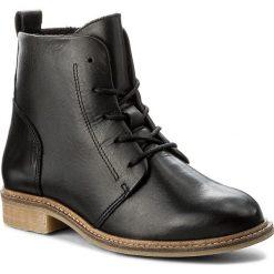Botki FILIPE - 9834  Preto 7273. Czarne buty zimowe damskie Filipe, ze skóry, na obcasie. W wyprzedaży za 269,00 zł.