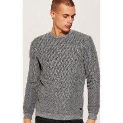 Sweter - Szary. Szare swetry klasyczne męskie marki Reserved, l. Za 89,99 zł.