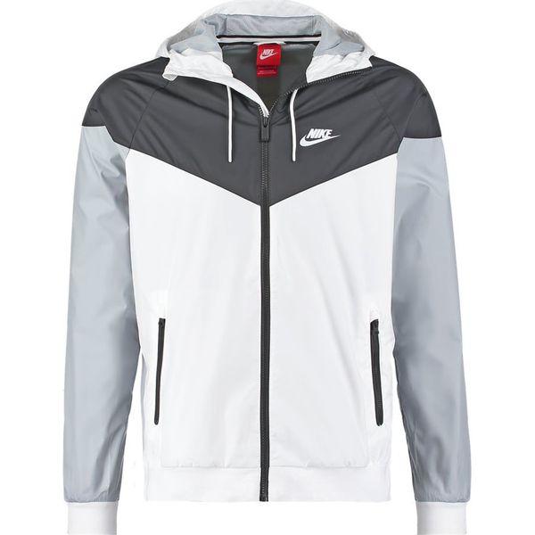 niska cena sprzedaży najlepsze oferty na świetne ceny Nike Sportswear WINDRUNNER Kurtka wiosenna blanc/noir/gris ...