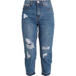 Lost Ink Petite OFF DUTY MOM IN ANDROME Jeans Skinny Fit blue denim. Niebieskie jeansy damskie Lost Ink Petite, petite. Za 169,00 zł.