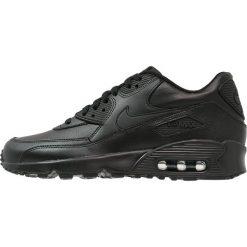 Nike Sportswear AIR MAX 90  Tenisówki i Trampki black. Czarne tenisówki męskie Nike Sportswear, z gumy. Za 449,00 zł.