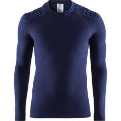 Męska podkoszulka CRAFT Warm Intensity Blue. Niebieskie podkoszulki męskie marki Astratex, z bawełny. Za 204,99 zł.