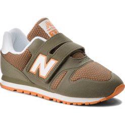 Trampki chłopięce: Sneakersy NEW BALANCE – KA373COY Zielony