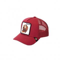 Czapki z daszkiem Goorin  GORRA Bros. BITCH - LOBO. Czerwone czapki męskie Goorin. Za 155,23 zł.