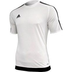 Adidas Koszulka piłkarska męska Estro 15 biało-czarna r. XL (S16146). Białe koszulki sportowe męskie marki Adidas, m. Za 39,00 zł.
