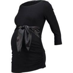 Bluzki asymetryczne: 9Fashion SIERRA Bluzka z długim rękawem black