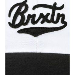 Czapki męskie: Brixton BERT Czapka z daszkiem white/black