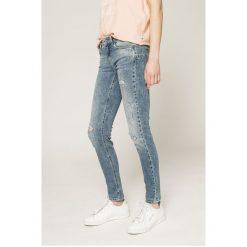 Liu Jo - Jeansy PANTS. Niebieskie jeansy damskie rurki marki Liu Jo, z bawełny, z obniżonym stanem. W wyprzedaży za 449,90 zł.