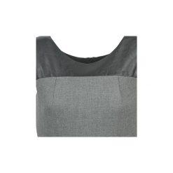 Sukienki krótkie Naf Naf  EPIPO. Szare sukienki mini marki NAF NAF, z krótkim rękawem. Za 343,20 zł.