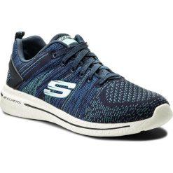 Buty SKECHERS - Burst 2.0 12651/NVTQ Nayv/Turquoise. Szare buty do fitnessu damskie marki KALENJI, z gumy. W wyprzedaży za 179,00 zł.