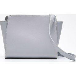 Shopper bag damskie: Torebka typu shopper – Jasny szary