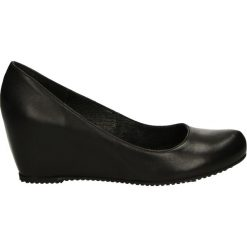Czółenka - 10534 OPA NER. Czarne buty ślubne damskie Venezia, ze skóry. Za 199,00 zł.