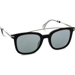 Okulary przeciwsłoneczne TOMMY HILFIGER - 1515/S Black 807. Czarne okulary przeciwsłoneczne damskie lenonki TOMMY HILFIGER. W wyprzedaży za 449,00 zł.
