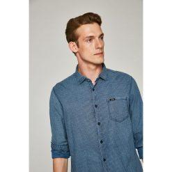 Guess Jeans - Koszula. Szare koszule męskie jeansowe marki S.Oliver, l, z włoskim kołnierzykiem, z długim rękawem. W wyprzedaży za 269,90 zł.