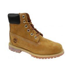 Buty trekkingowe damskie: Timberland Premium 6 Inch 10361 38,5 Żółte