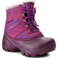 Kozaki dziewczęce: Śniegowce COLUMBIA – Childrens Rope Tow II Waterproof BC1323 Northern Light/Melonade