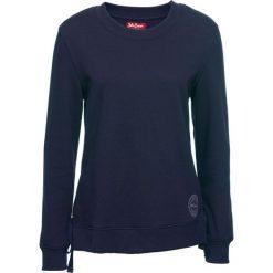 Bluza ze sznurowaniem bonprix ciemnoniebieski. Niebieskie bluzy rozpinane damskie bonprix. Za 44,99 zł.