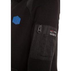 Bluzy męskie: Retour Jeans MATHEW Bluza z kapturem black
