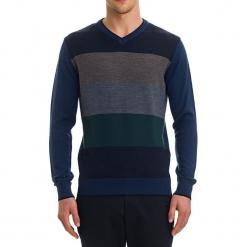 Sweter w kolorze niebieskim. Niebieskie swetry klasyczne męskie GALVANNI, m. W wyprzedaży za 229,95 zł.
