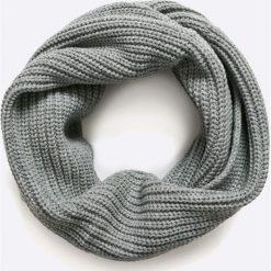 Jack & Jones - Komin. Czarne szaliki męskie marki Jack & Jones, l, z bawełny, z klasycznym kołnierzykiem, z długim rękawem. W wyprzedaży za 59,90 zł.