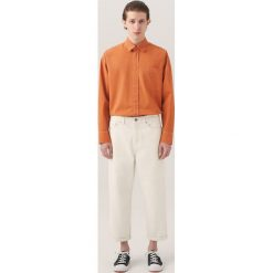 Jeansy męskie regular: Białe jeansy re.design - Biały