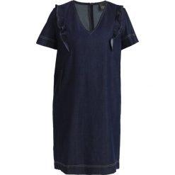 Sukienki hiszpanki: Persona by Marina Rinaldi RUFFLE DRESS Sukienka jeansowa denim blue