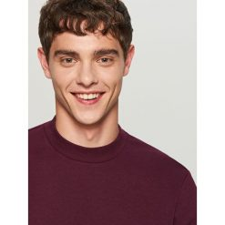 Gładka bluza Basic - Bordowy. Czerwone bluzy męskie marki KALENJI, m, z elastanu, z długim rękawem, długie. Za 59,99 zł.