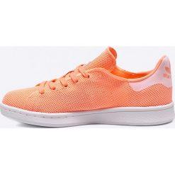 Adidas Originals - Buty Stan Smith W. Brązowe buty sportowe damskie marki adidas Originals, z bawełny. W wyprzedaży za 159,90 zł.