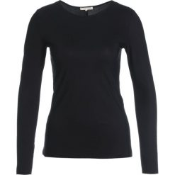 Filippa K SMOOTH DANCE  Bluzka z długim rękawem black. Czarne bluzki asymetryczne Filippa K, s, z elastanu, z długim rękawem. W wyprzedaży za 221,40 zł.