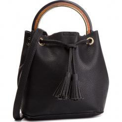 Torebka MENBUR - 449440001 Black. Czarne torebki worki Menbur, ze skóry ekologicznej. Za 229,00 zł.
