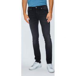 Tommy Jeans - Jeansy Scanton. Czarne jeansy męskie slim Tommy Jeans, z bawełny. Za 399,90 zł.