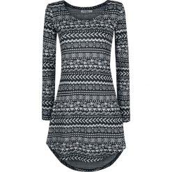 Innocent Winter Dress Sukienka szary/czarny. Niebieskie sukienki z falbanami marki Innocent, xl, w ażurowe wzory, z materiału, z dekoltem na plecach. Za 144,90 zł.