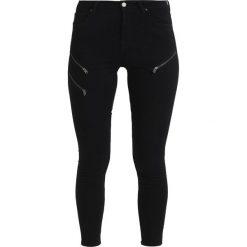 Boyfriendy damskie: AllSaints GRACE ZIP ANKLE Jeans Skinny Fit black
