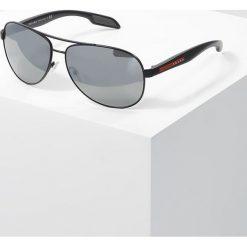 Prada Linea Rossa LIFESTYLE Okulary przeciwsłoneczne black/grey/silver. Czarne okulary przeciwsłoneczne męskie aviatory Prada Linea Rossa. Za 819,00 zł.